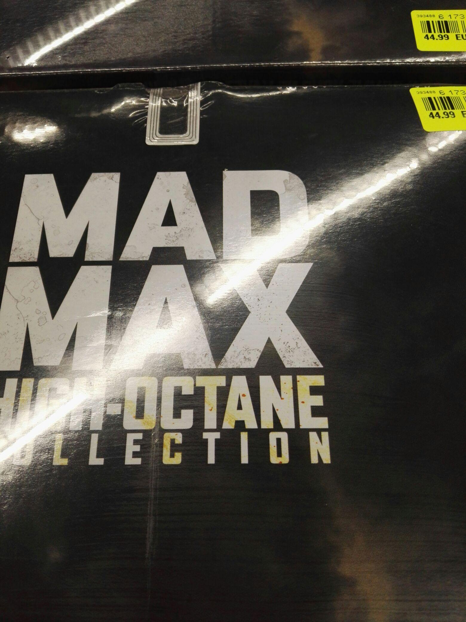 "Coffret Mad Max Anthologie High-Octane Collection - Edition limitée coffret voiture et version inédite ""Black and Chrome"" du film Mad Max Fury Road - Noz Augny (57), Mozac (63)"