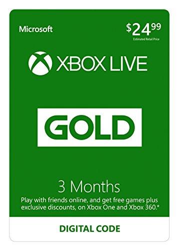 Abonnement au Xbox Live - 3 Mois