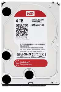"Disque dur interne 3,5"" Western Digital Red 4 To SATA III (Frontaliers suisse)"