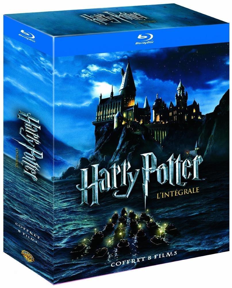Coffret Blu-ray intégrale Harry Potter 8 films