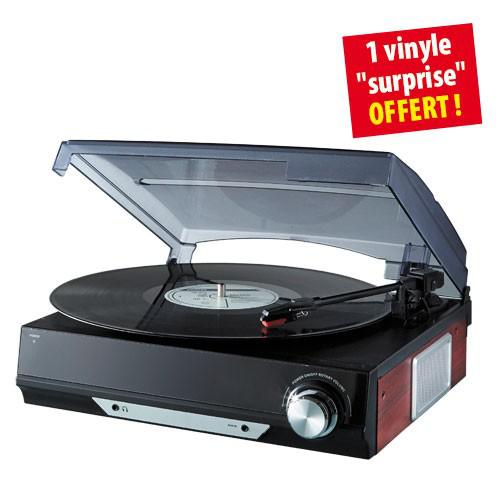 Platine Simplicity Vinyle Rétro + 1 Vinyle offert