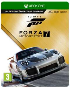 Forza Motorsport 7 Ultimate Edition sur Xbox One
