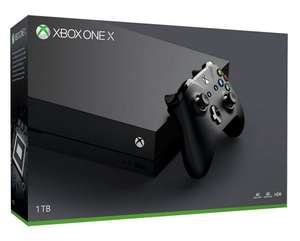 Console Xbox One X 399,38€ (100€ en SuperPoints)
