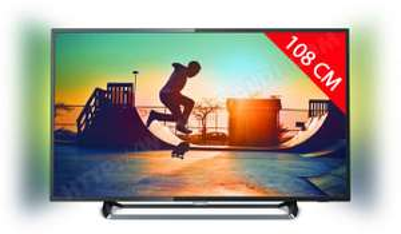 "TV 43"" Philips 43PUS6262 - LED 4K Ultra HD Ambilight (via ODR 50€)"