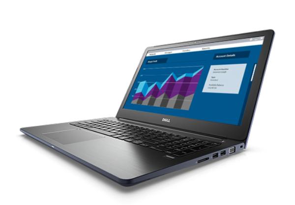 PC Portable Dell Vostro 15 5568 -  i5-7200U - SSD 256 Go - 8 Go ram - 4 ans de garantie