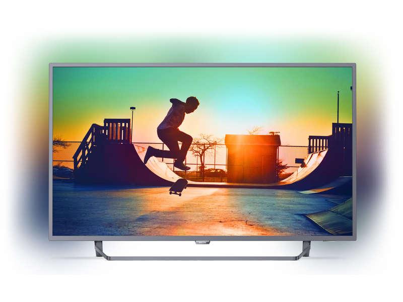 """TV 50"""" Philips 50PUS6272/12 avec Ambilight 3 côtés - UHD 4K, HDR, Smart TV + Bon d'achat de 100€"""