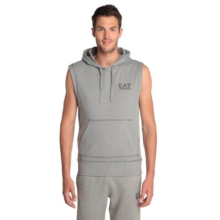 Sweat à capuche homme Emporio Armani EA7 (Toutes tailles disponibles)