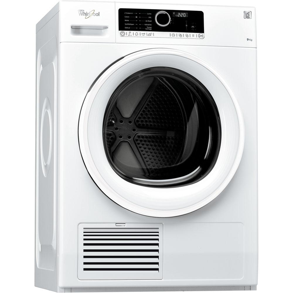 Sèche linge à condensation Whirlpool DSCX90113 - Blanc