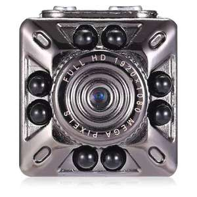 Caméra Kelima SQ10 Mini 1080P HD DVR avec VIsion Nocturne- Silver