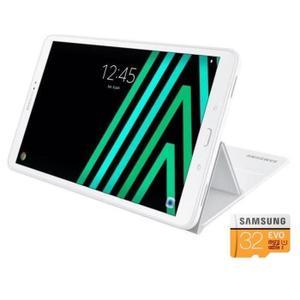 "Tablette 10.1"" Samsung Galaxy Tab A6 SMT580NZWAXEF - 16Go + Cover + microSD Samsung Evo 32Go (Via ODR 30€)"
