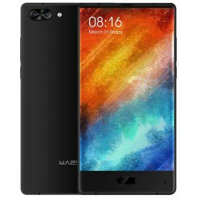"""Smartphone 6"""" Maze Alpha - Helio P25, 6 Go de RAM, 64 Go, noir"""