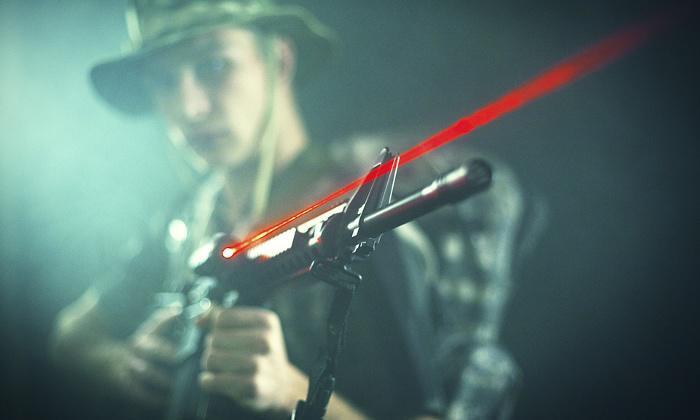 2 séances de laser game avec boisson pour 4, 6, 8 ou 10 Shoot'in Park'évents