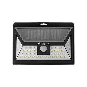 Lampe solaire d'extérieur Arilux 44 LED solaire avec détection de mouvement