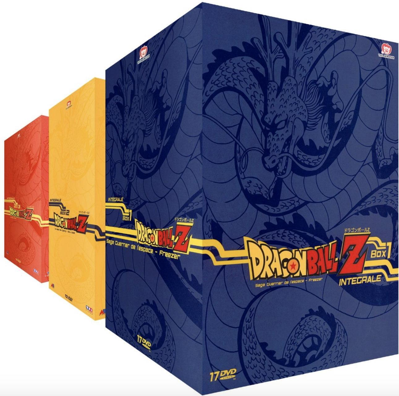 Intégrale DVD Dragon Ball Z - Volume 1 à 3