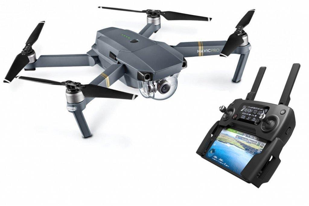 Drone Quadcopter DJI Mavic Pro - Caméra 4K UHD avec Radiocommande