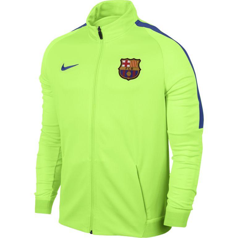 Sélection de produits jusqu'à -70% - Ex : Veste de survêtement FC Barcelone Verte 2016 - 2017