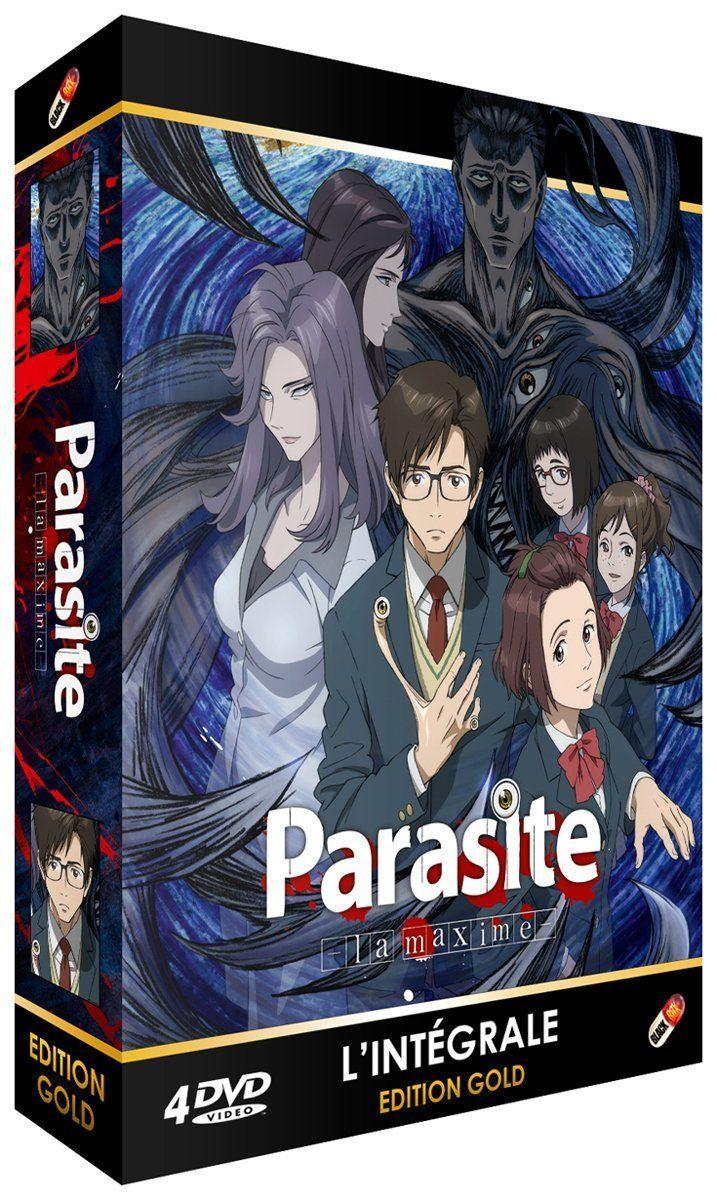 Coffret DVD + Livret Parasite : La Maxime - Intégrale en DVD Edition Gold