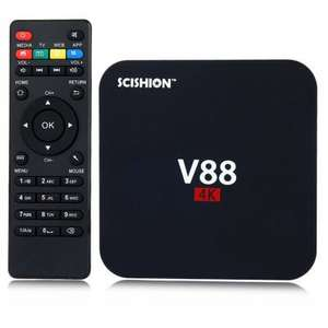 Box TV Android Scishion V88 - 4K, RK3229, RAM 1 Go, ROM 8 Go