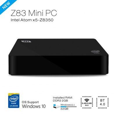 Mini PC Z83 Box - Windows 10 Intel Atom 64 bits x5-Z8300 2 Go de RAM - 32 Go - WiFi - Bluetooth 4.0