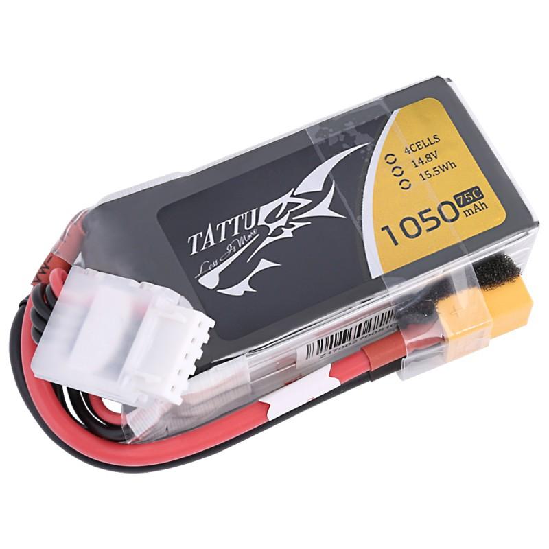 Batterie Lipo Tattu 4S - 1050mAh 75C