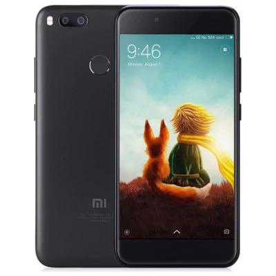 "Smartphone 5,5"" Xiaomi Mi A1 Noir-Full HD, Snapdragon 625, RAM 4 Go, ROM 64 Go (Avec B20)"