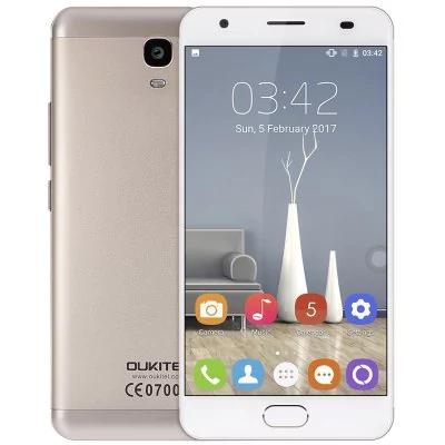 "Smartphone 5.5"" Oukitel K6000 Plus Or - Full HD, MTK6750T, RAM 4 Go, ROM 64 Go, Batterie 6080 mAh (B20)"