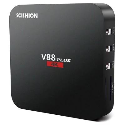 Box TV Scishion V88 Plus - 4K, Android 6.0, RK3229, RAM 2 Go, ROM 8 Go