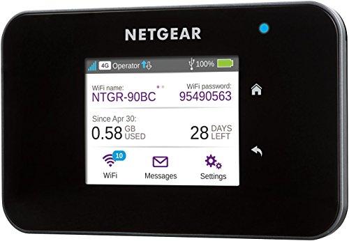Hotspot Mobile Netgear AC810-100EUS - 4G+ LTE, Wi-Fi, 1200 Mbps, Noir