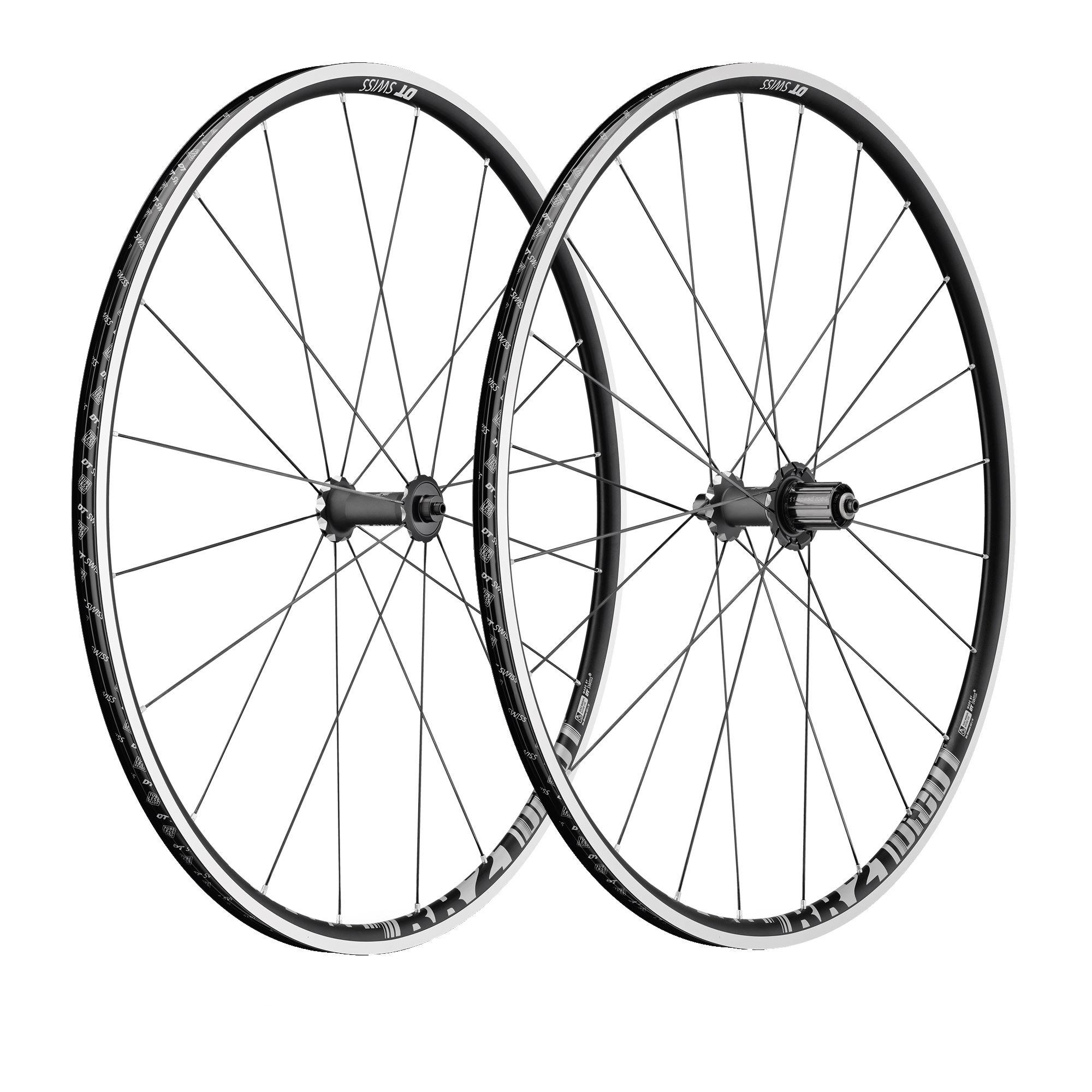Roues vélo DT Swiss RR21 Dicut aluminium