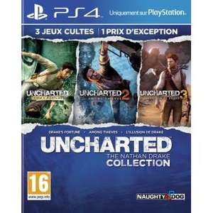 Uncharted Collection sur PS4
