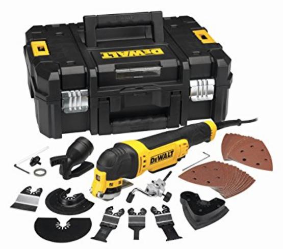 Multi-Cutter Dewalt DWE315KT - 300W + 32 accessoires en coffret T-STAK