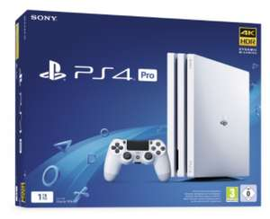 Console Sony PS4 Pro 1To - Blanc Glacier