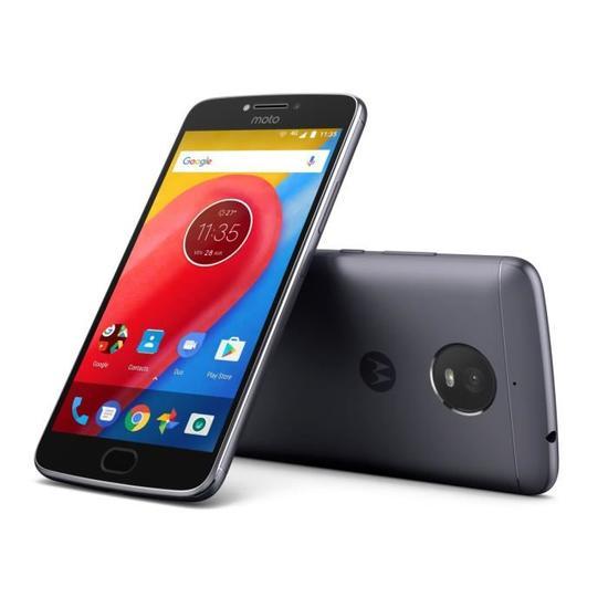 """Smartphone 5.5"""" Motorola Moto E4 Plus - 3 Go RAM, 16 Go, Noir ou or"""