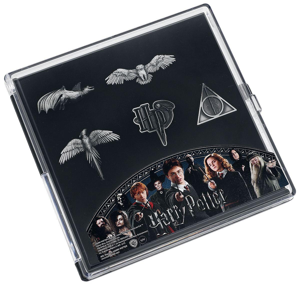 Coffret de broches Harry Potter - plusieurs thèmes - Pop culture