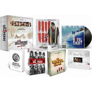 Coffret Blu-ray collector - Les 8 salopards édition prestige