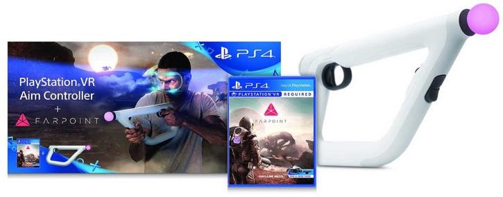 Kit Farpoint PS4 VR + AIM accessoire de tir