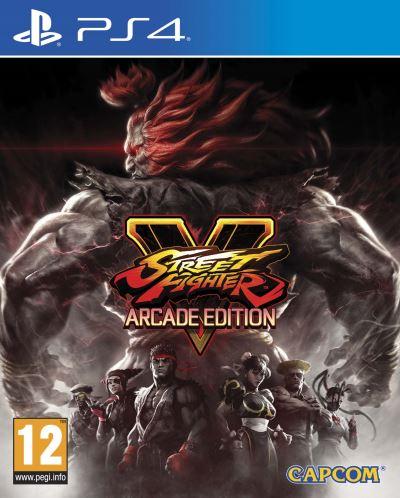 [Adhérents] Précommande : Street Fighter V Arcade Edition sur PS4 + 10€ en chèque cadeau