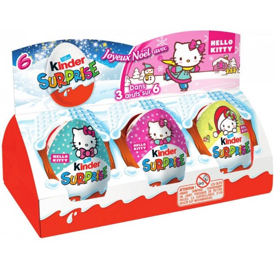 6 lots de 6 Kinder Suprise (via 6,98€ sur la carte fidélité, 0.8€ de BDR) Carrefour Market