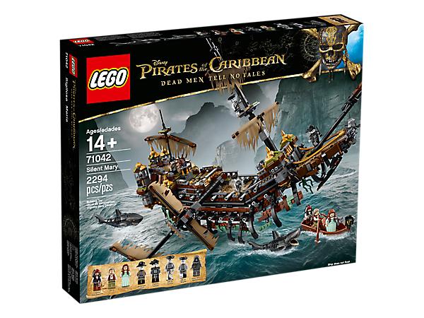 Lego Pirates Des Caraïbes 71042 - Silent Mary + Casse noisettes