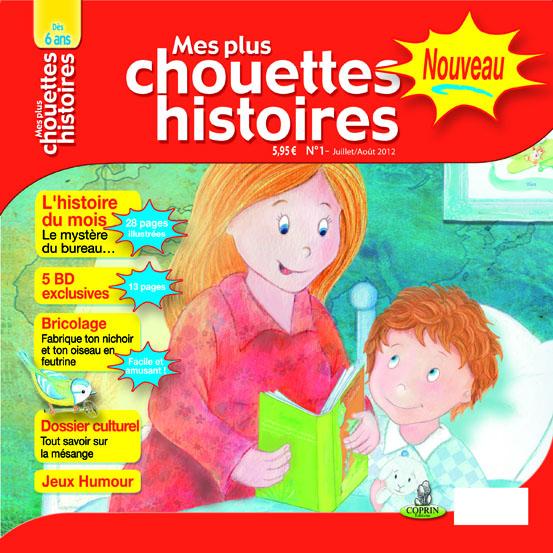 Magazine pour enfant « Mes plus chouettes histoires » gratuit