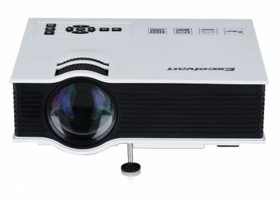 Vidéoprojecteur Portable LED Excelvan UC40 800 Lumens (UK Plug) - Blanc