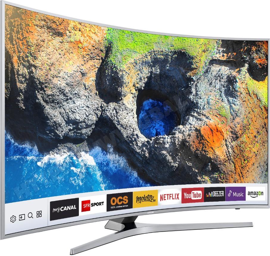 "TV 65"" Samsung UE65MU6505 - 4K - incurvé (via 200€ ODR)"