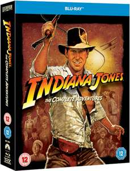 Coffret blu-ray intégrale Indiana Jones