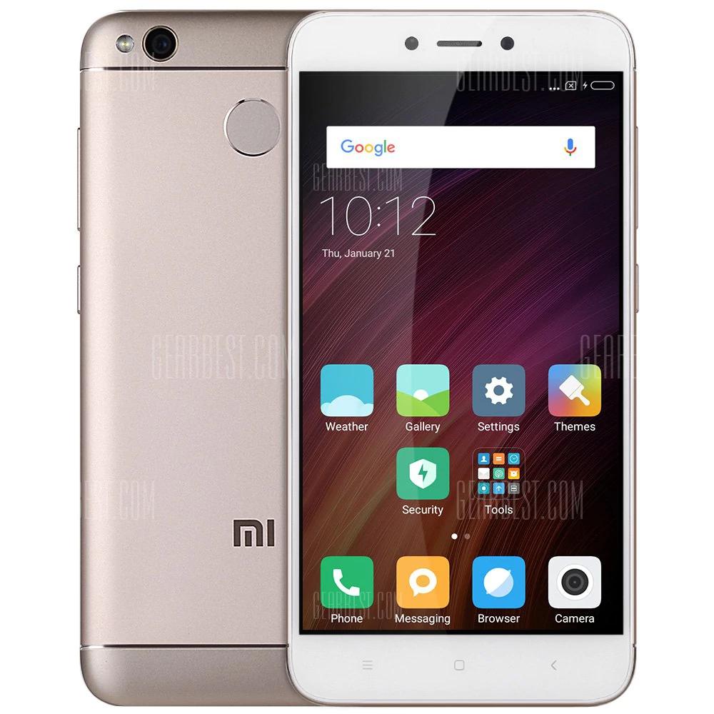 """Smartphone 5"""" Xiaomi Redmi 4X OR - HD, Snapdragon 435, RAM 2 Go, RAM 16 Go, 4G (sans B20)"""