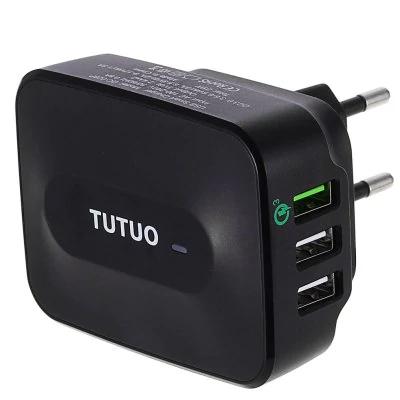 Chargeur USB Tutuo QC-028P - Quick Charge 3.0 certifié Qualcomm