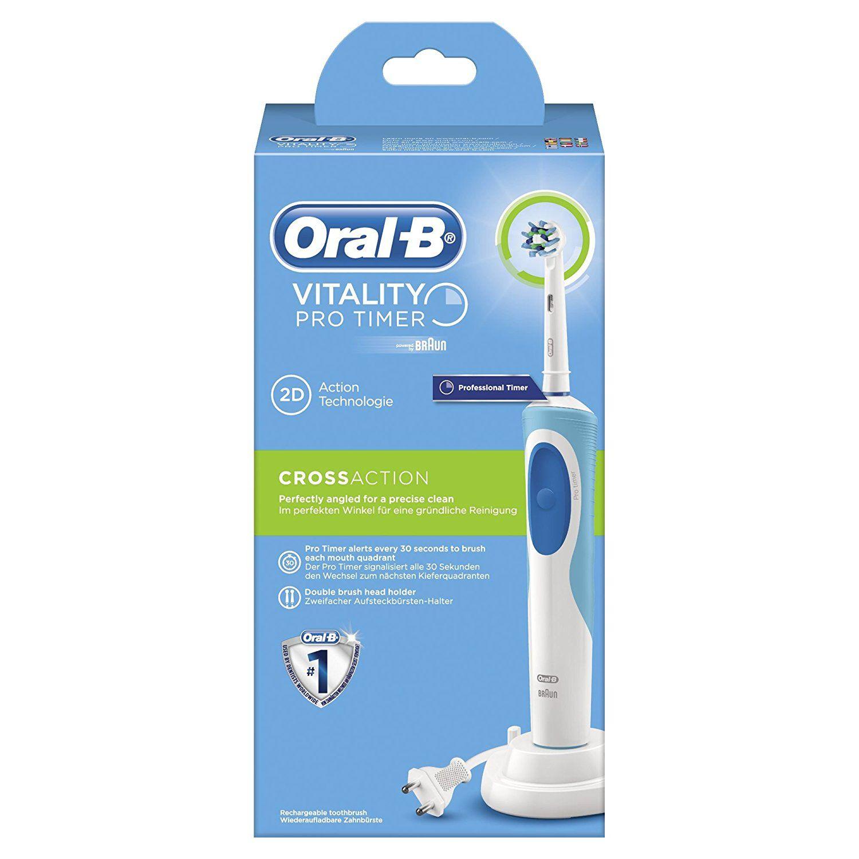Brosse à dents électrique Oral-B Vitality Pro Timer (via 15€ fidélité sur la carte)