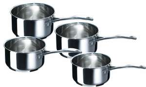 Lot 4 casseroles Beka Chef