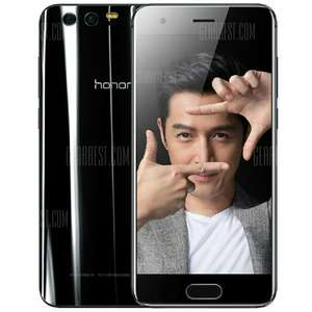 "Smartphone 5.15"" Huawei Honor 9 - Kirin 960, 4 Go de RAM, 64 Go, noir (Sans B20)"
