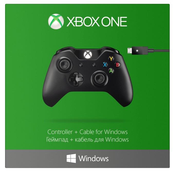 Manette sans fil Xbox One + câble pour PC