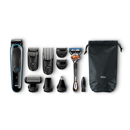Ensemble de rasage multifonction Braun MGK 3080 pour le corps et le visage avec tondeuse 9 en 1